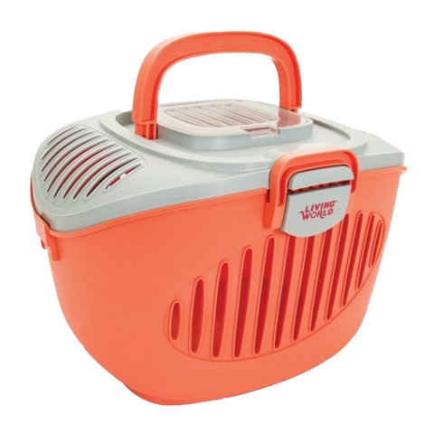 LIVING WORLD Small Pet Carrier