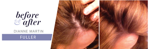 monat hair care before and after