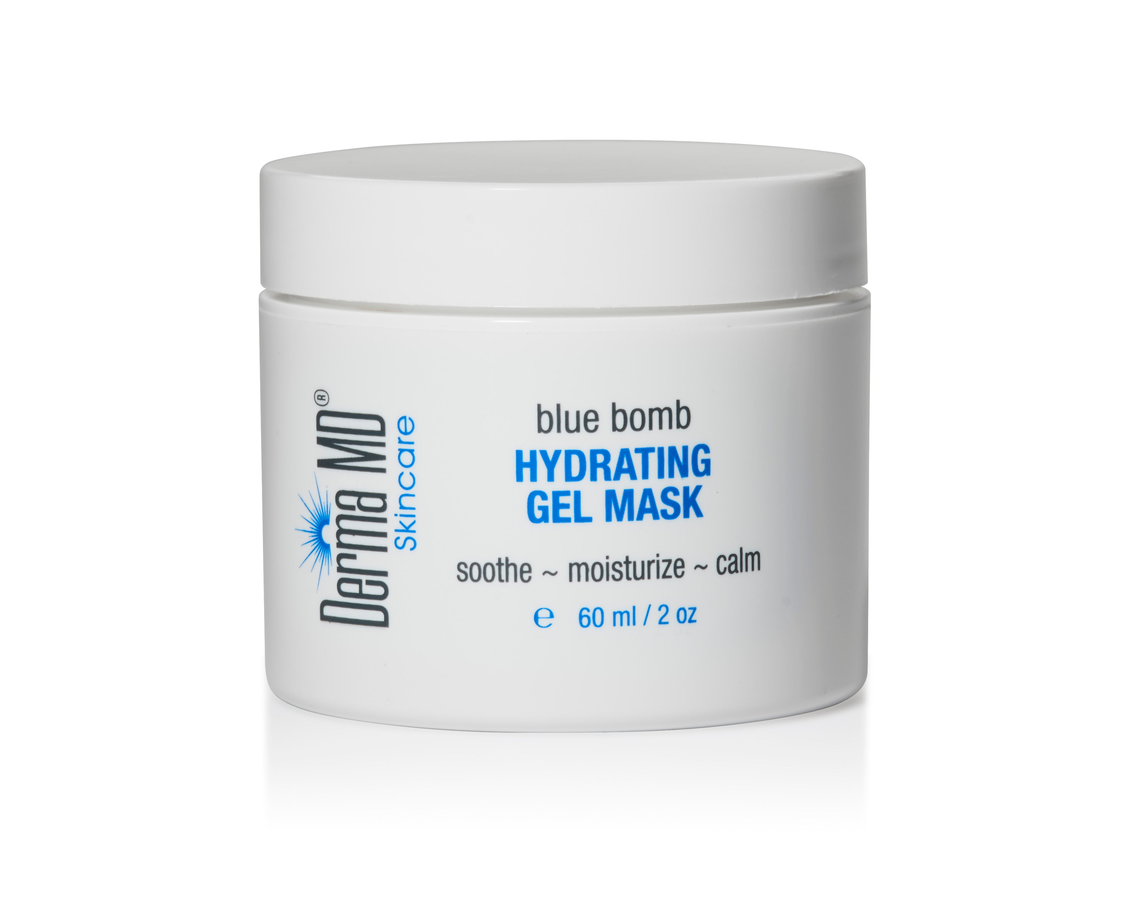 BLUE BOMB Hydrating Gel Mask