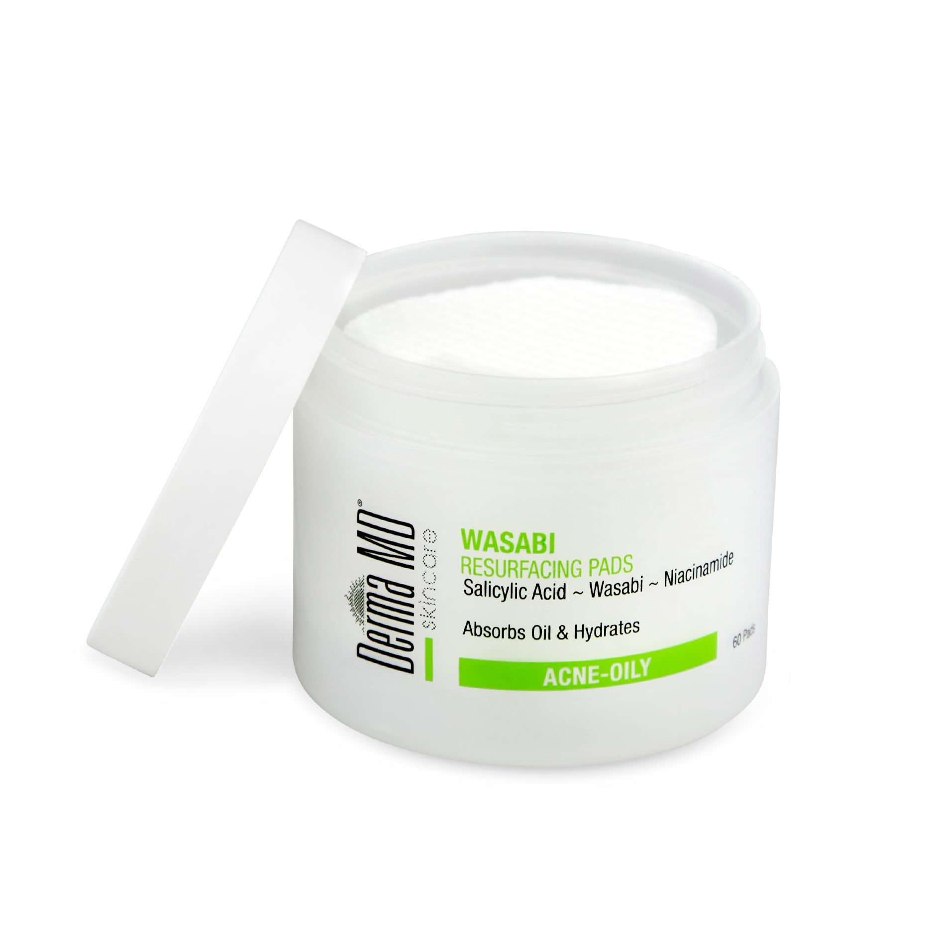 Wasabi Resurfacing Anti-Acne Pads (60)