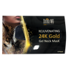 24K Gold Gel Neck Mask
