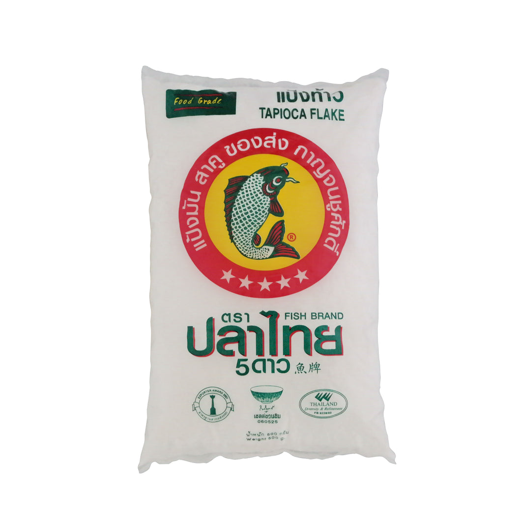 Fish Brand Tapioca Flake 500g/pack
