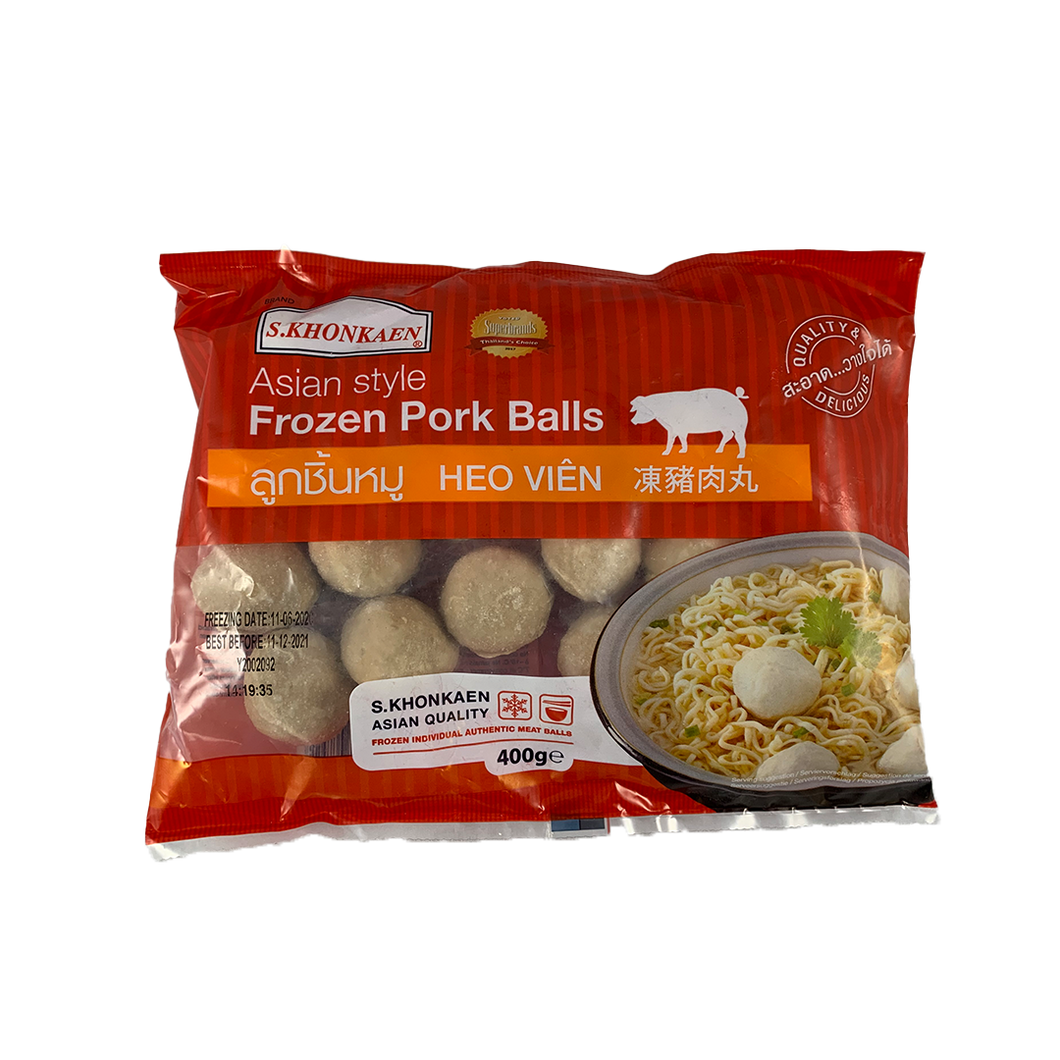 Frozen S.Khonkaen Pork Ball 400g/pack