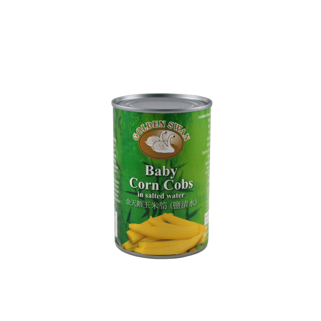 Golden Swan Baby Corn in brine 425g/pack