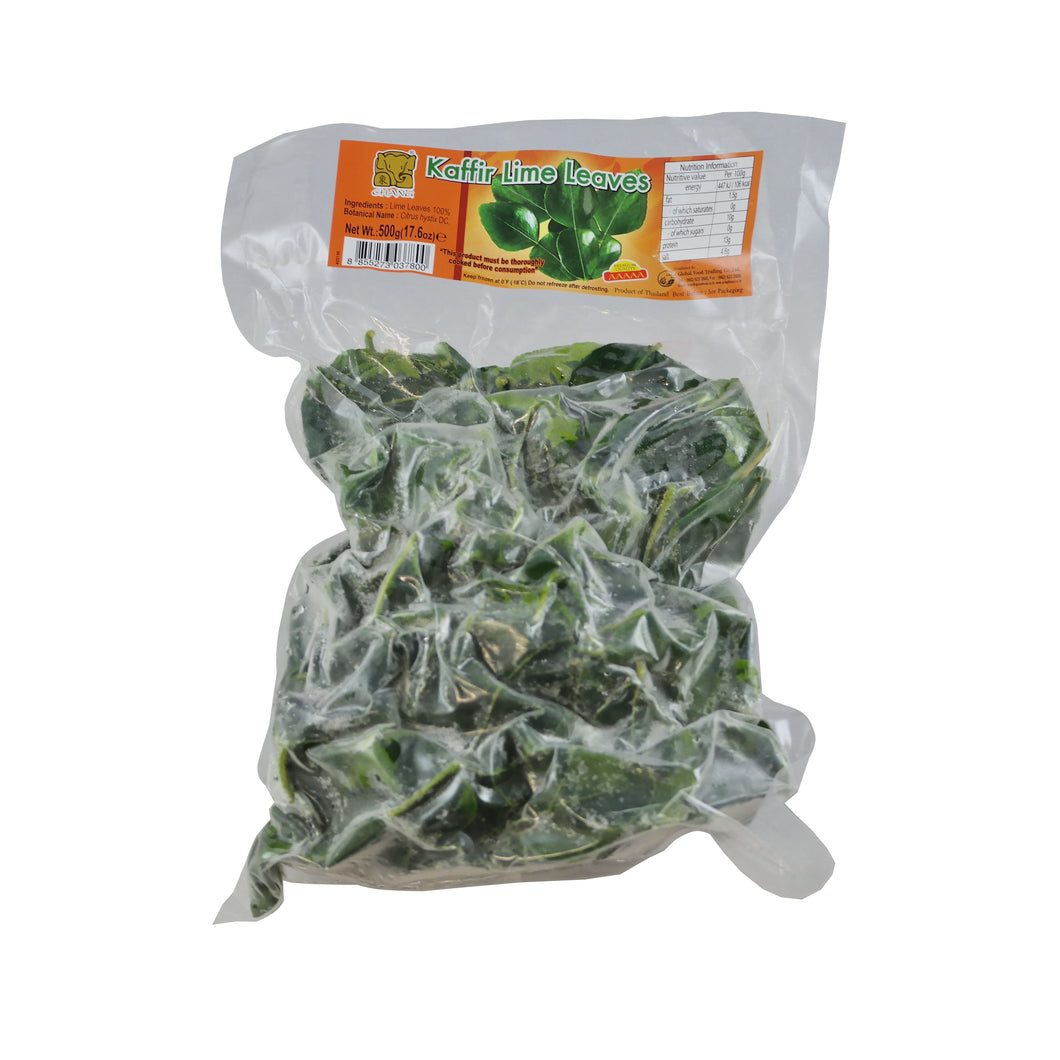 Frozen Kaffir Lime Leaves 500g/pack