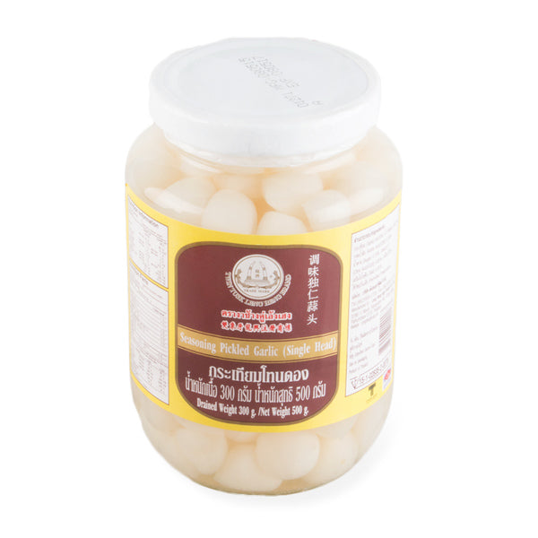 Leng Heng Pickled Single Head Garlic 8oz/pack