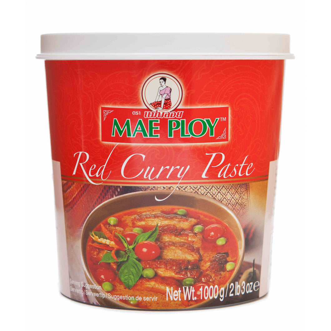 Mae Ploy Red Curry Paste 1kg/pack