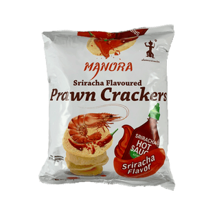 Manora Sriracha Prawn Crackers