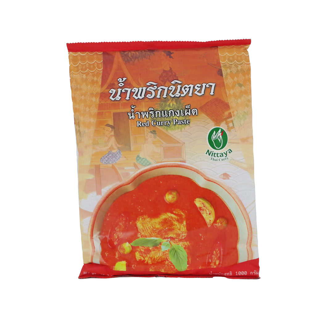 Nittaya Red Curry Paste 1kg/pack