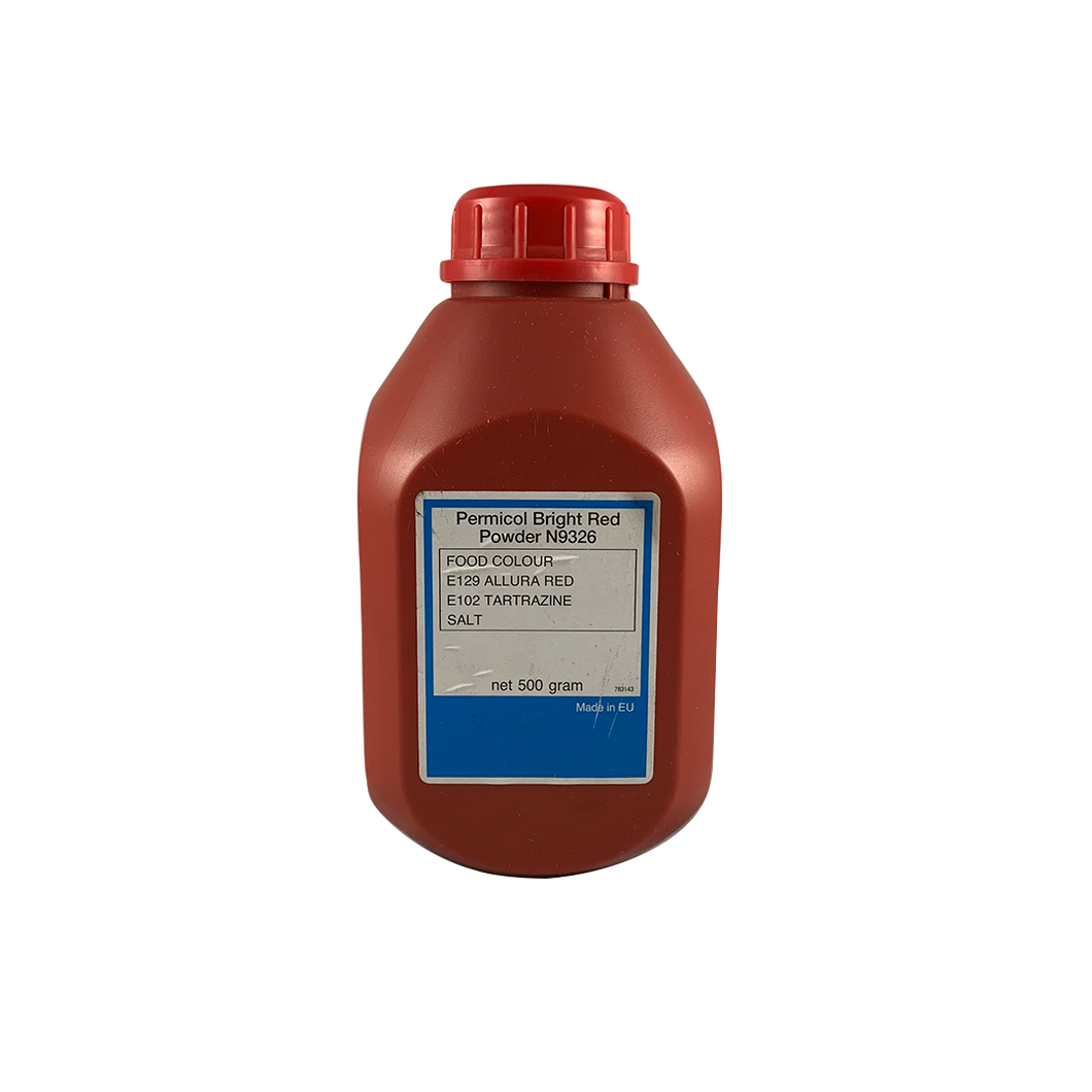 Permicol Bright Red Colour 500g/pack (VAT)