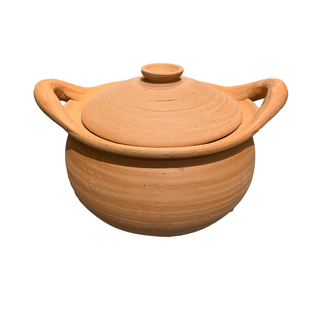 "Thai Clay Pot with Lid 12""/pc (VAT)"