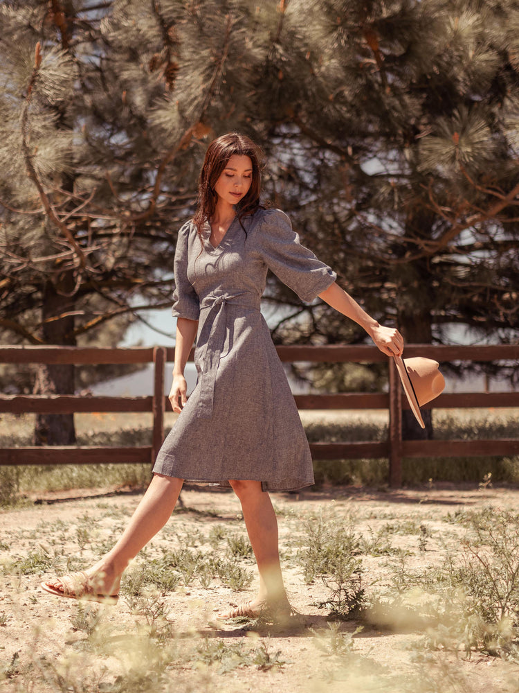 Dresses Sodalin Hemp Dress - VALANI sustainable, vegan, ethical women's clothing