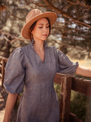 Sodalin Hemp Dress - VALANI sustainable, vegan, ethical