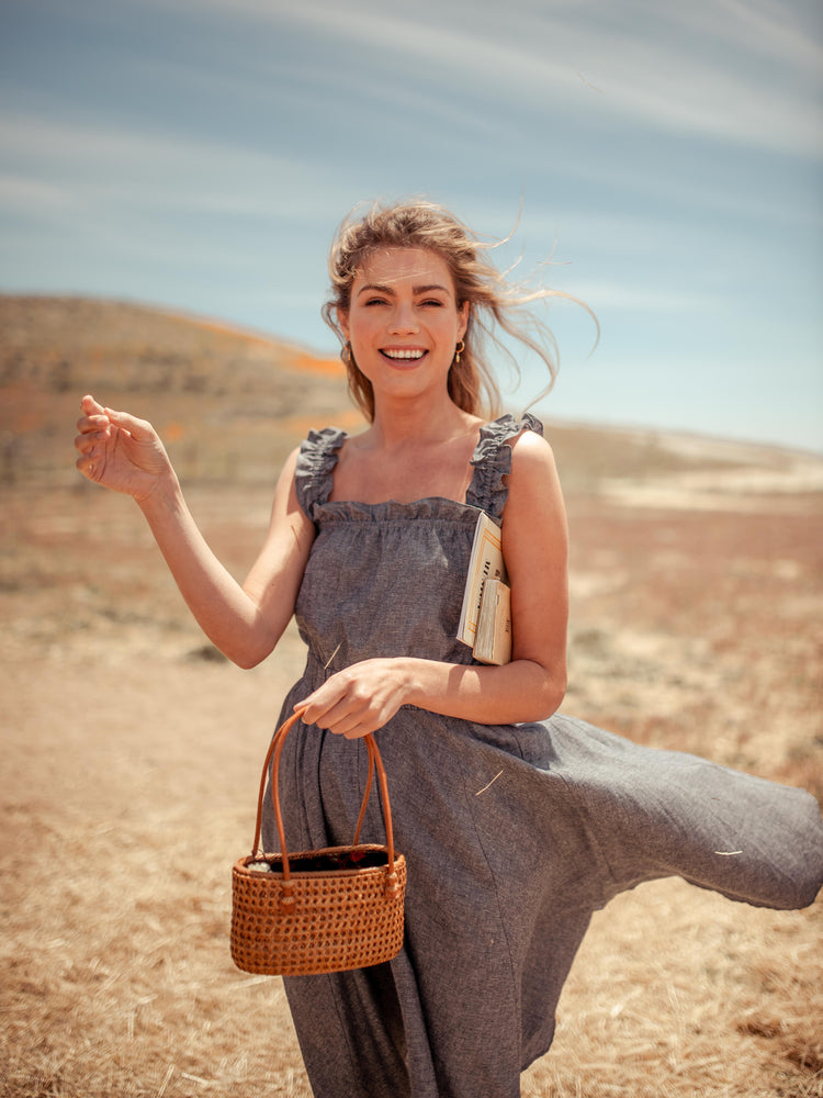 Dresses Vanna Hemp Dress - VALANI sustainable, vegan, ethical women's clothing