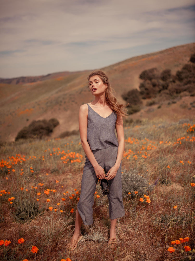 Sarita Hemp Cami - VALANI sustainable, vegan, ethical