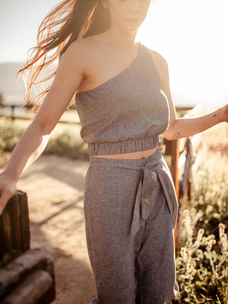 Load image into Gallery viewer, Bottoms Kosal Hemp Pants - VALANI sustainable, vegan, ethical women's clothing