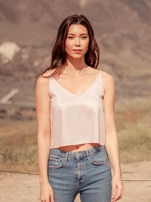 Tops Sarita Tencel Cami - VALANI sustainable, vegan, ethical women's clothing