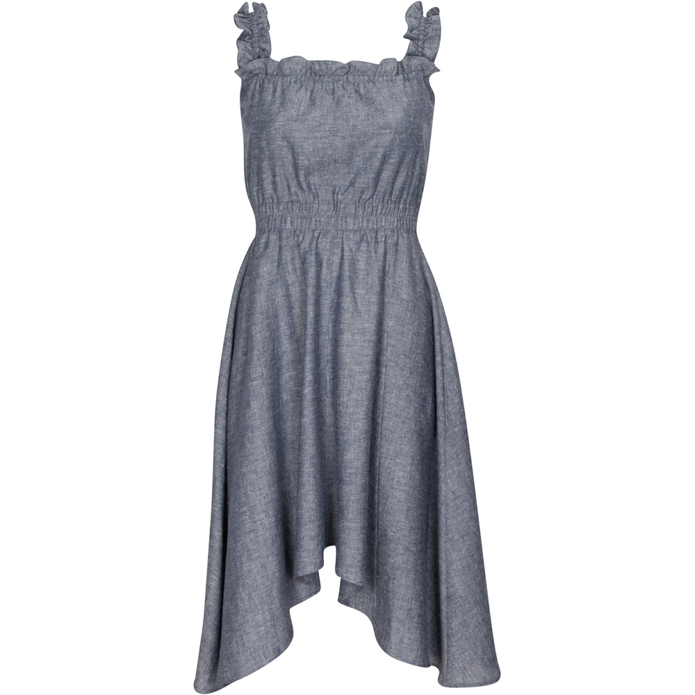 Dresses Vanna Hemp Midi Dress - VALANI sustainable, vegan, ethical women's clothing