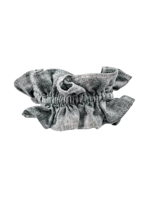 Load image into Gallery viewer, Rufina Ruffle Scrunchie - VALANI sustainable, vegan, ethical