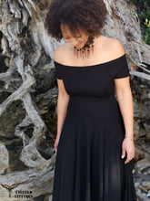 Load image into Gallery viewer, Medea Dress - Black - Made to Order