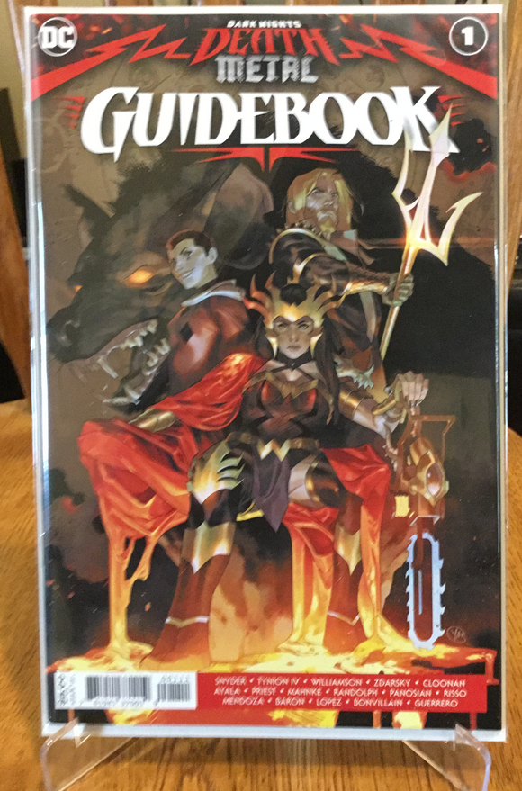 DARK NIGHTS DEATH METAL GUIDEBOOK ISSUE #1
