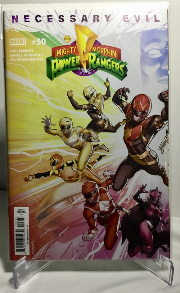 Power Rangers #50 Connecting Covers Variant