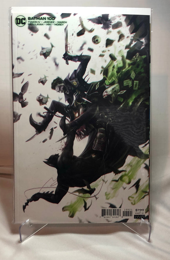 Batman #100 Martina Variant