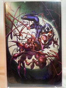 KING IN BLACK: GWENOM VS CARNAGE #1 CLAYTON CRAIN  VIRGIN