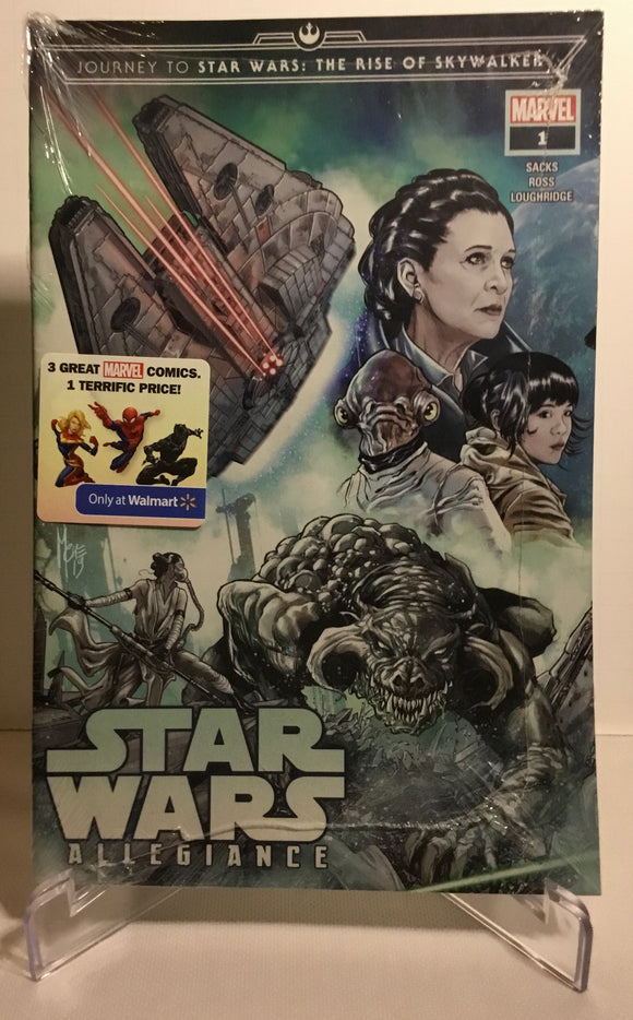 Journey Star Wars: The Rise of Skywalker-Allegiance 3-Pack