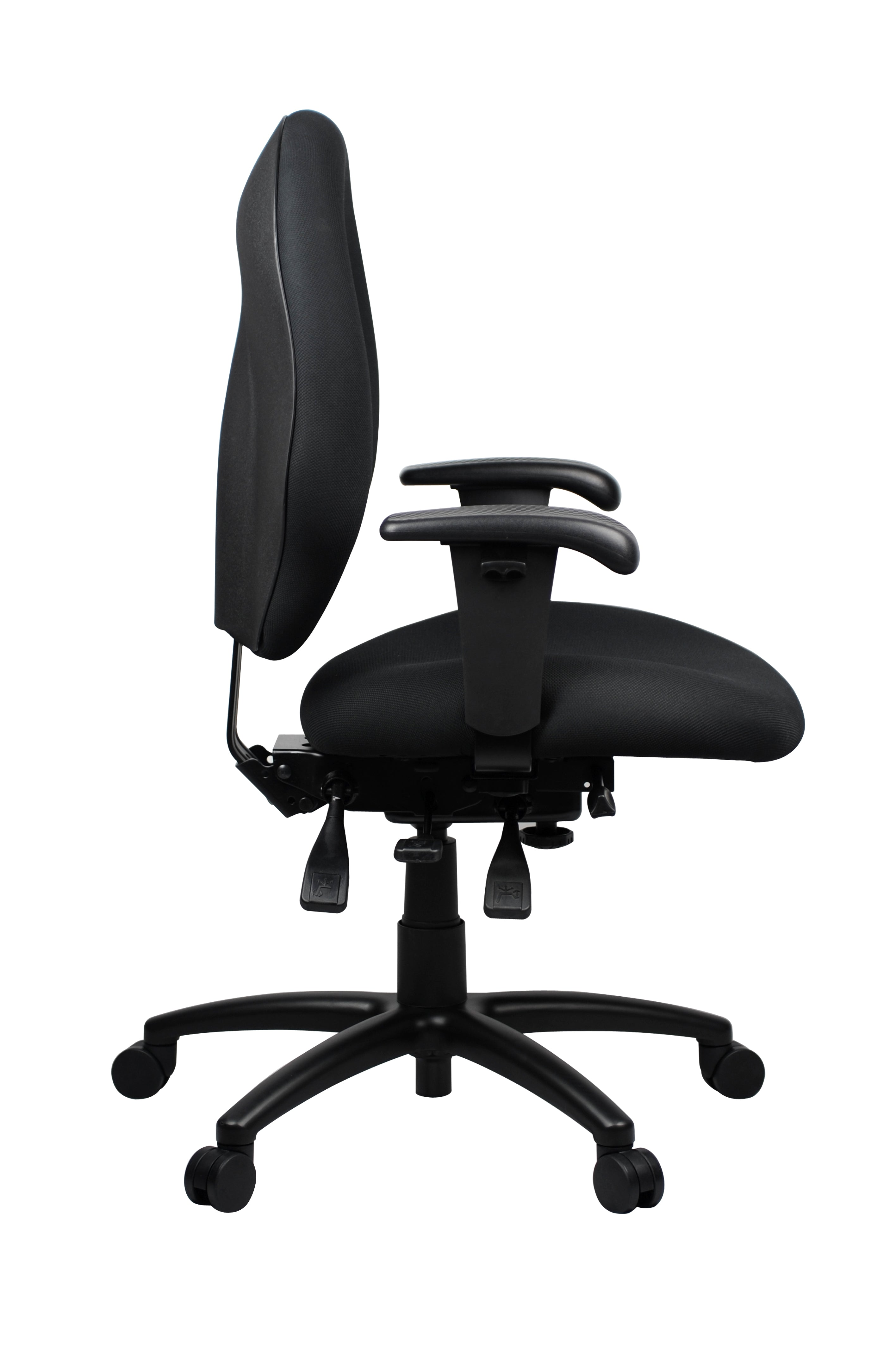 Ergonomic Duro™ Heavy Duty Task Chair - Medium Back Support - KiPP