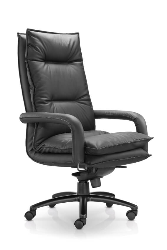 Office Chair Leather - Bliss™ High Back - KiPP