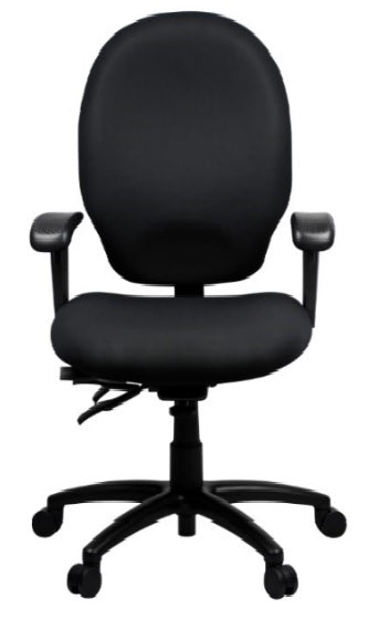Ergonomic Duro™ Heavy Duty Task Chair - High Back Support - KiPP