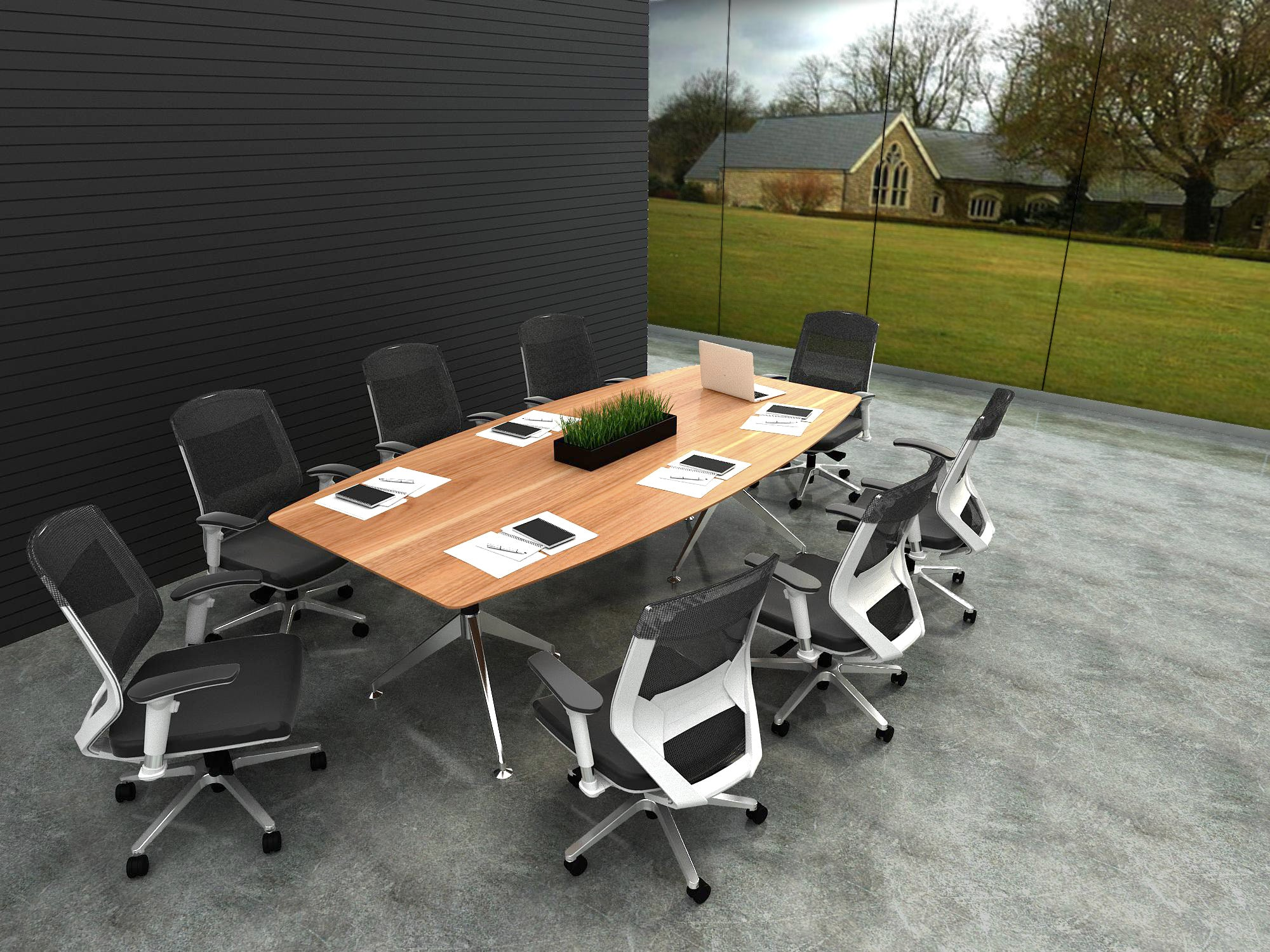 Potenza™ Boardroom Table For Home Or Office - KiPP
