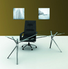 Forza™ Executive Glass Top Desk - KiPP