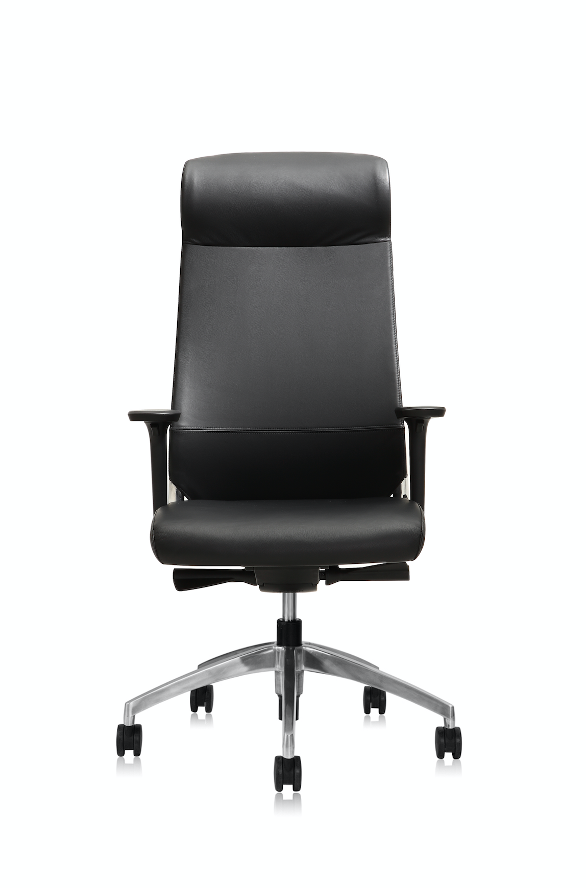 Office Chair Leather - Burton™ High Back Support - KiPP
