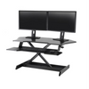 Ergotron™ WorkFit Corner Sit Stand Desk Converter Workstation Black - KiPP