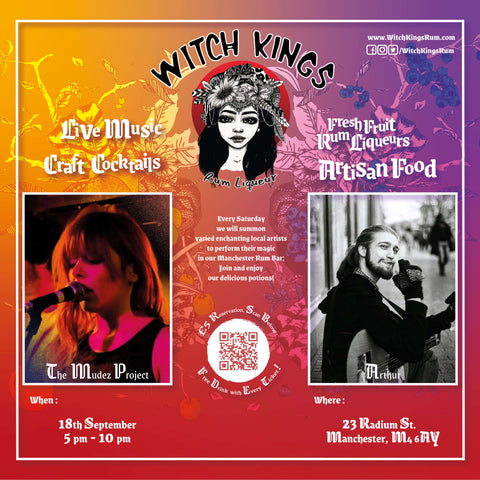 Witch Kings Rum - The Mudez Project and Arthur [Busker]
