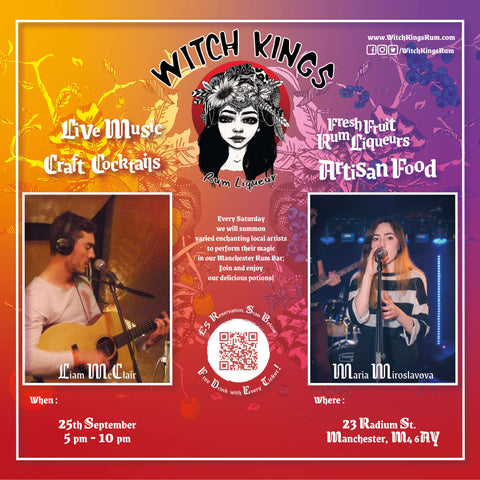 Witch Kings Rum - Liam McClair and Maria Miroslavova