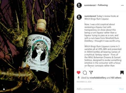 Witch Kings Rum - Product Review by @ruminterest