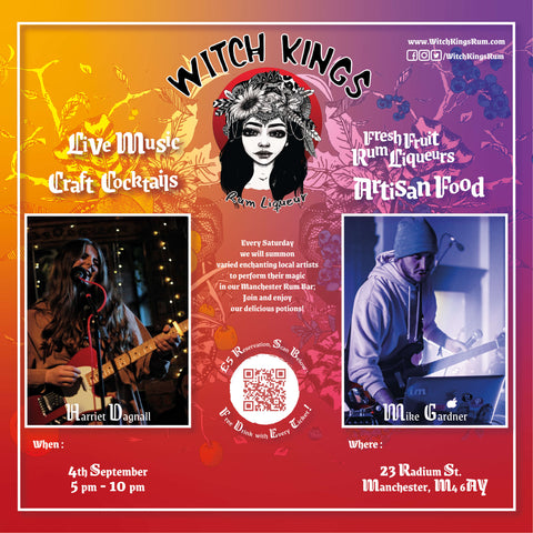 Witch Kings Rum - 4th September 2021 - Mike Gardner and Harriet Dagnall