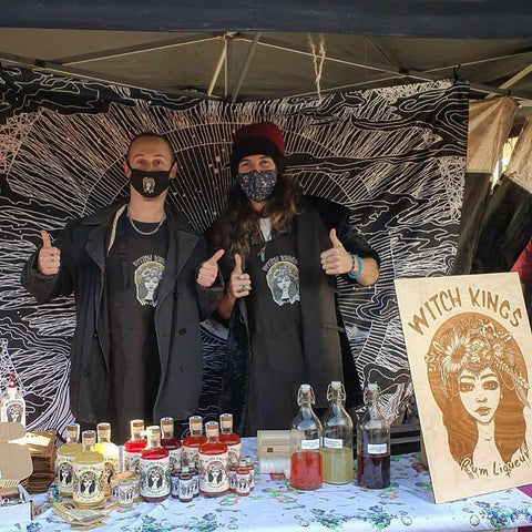 Witch Kings Rum - Maxi & Biz at the Makers Market