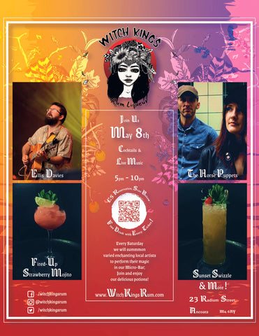 Witch Kings Rum - Micro-Bar 3 - The Horse Puppets and Ellis Davies (Honeyfeet)