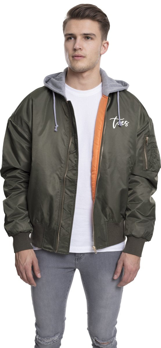 Bomber Jacket Hooded Oversize