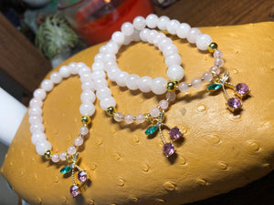 Rose Quartz Luxe Bracelet