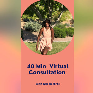 40 Min Consultation With Queen Jordii