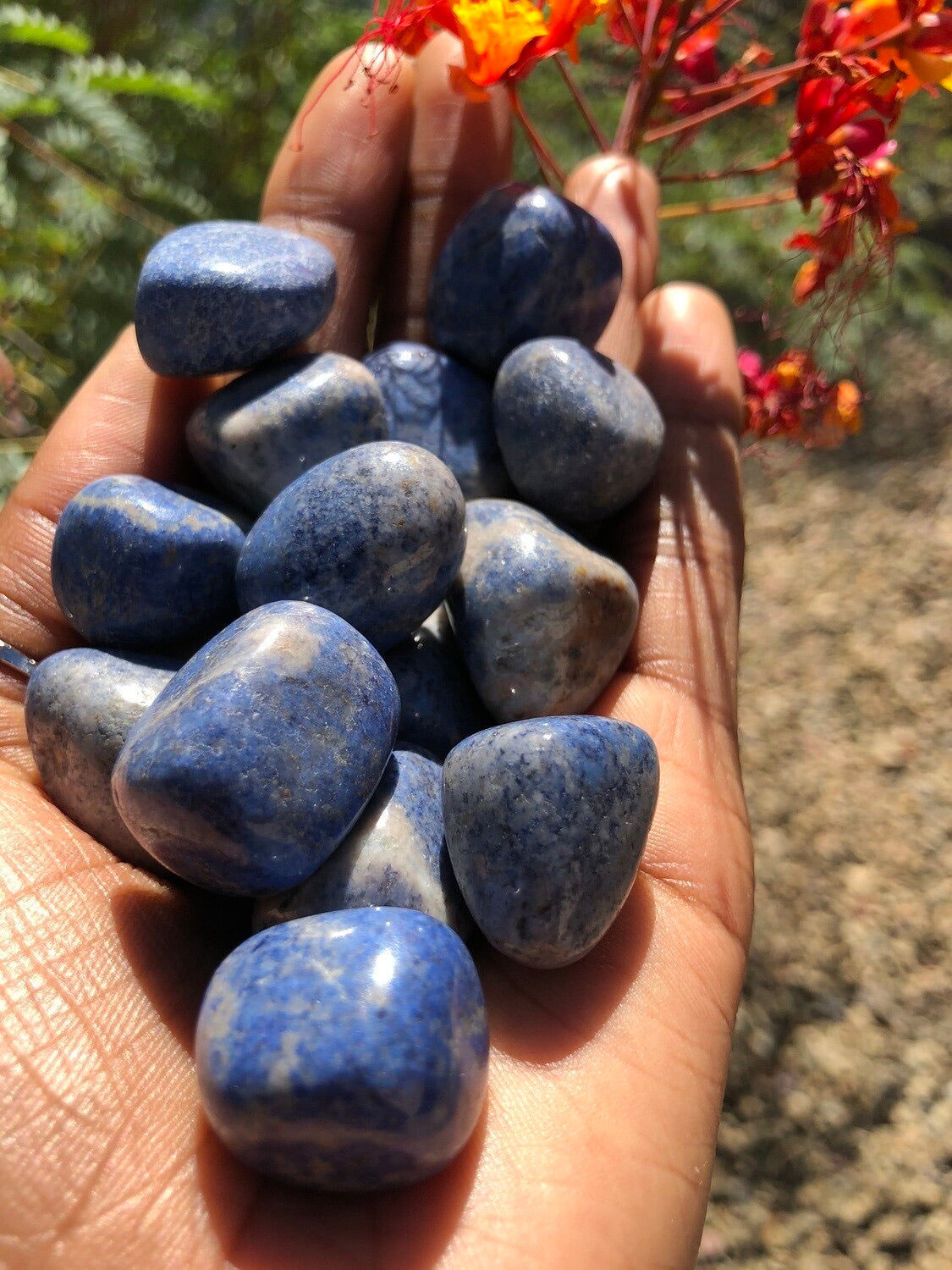 Dumortierite Polished Stone