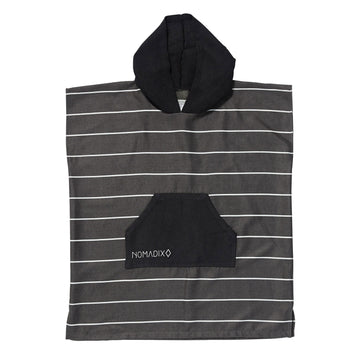 Youth Poncho Pinner Black