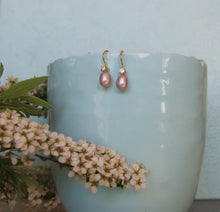 Load image into Gallery viewer, Bridesmaid Pearl Earrings