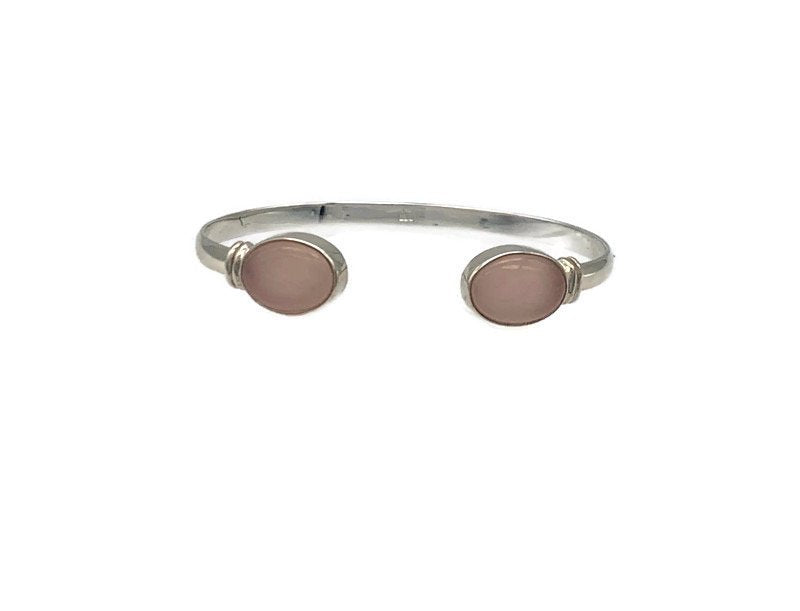 Bia Bangle - Rose Quartz