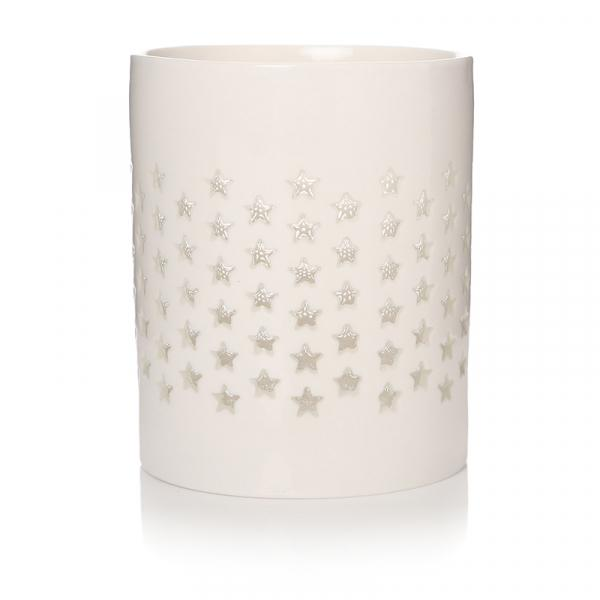 White Star Votive Tealight Holder